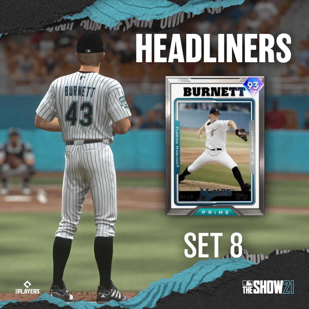 AJ Burnett Headliners Set 8