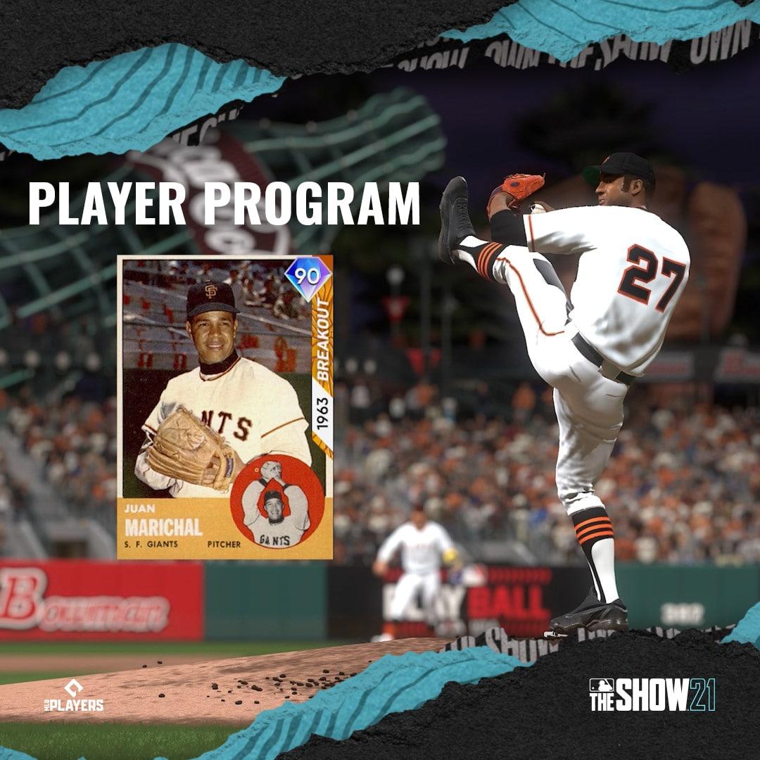 Juan Marichal Player Program